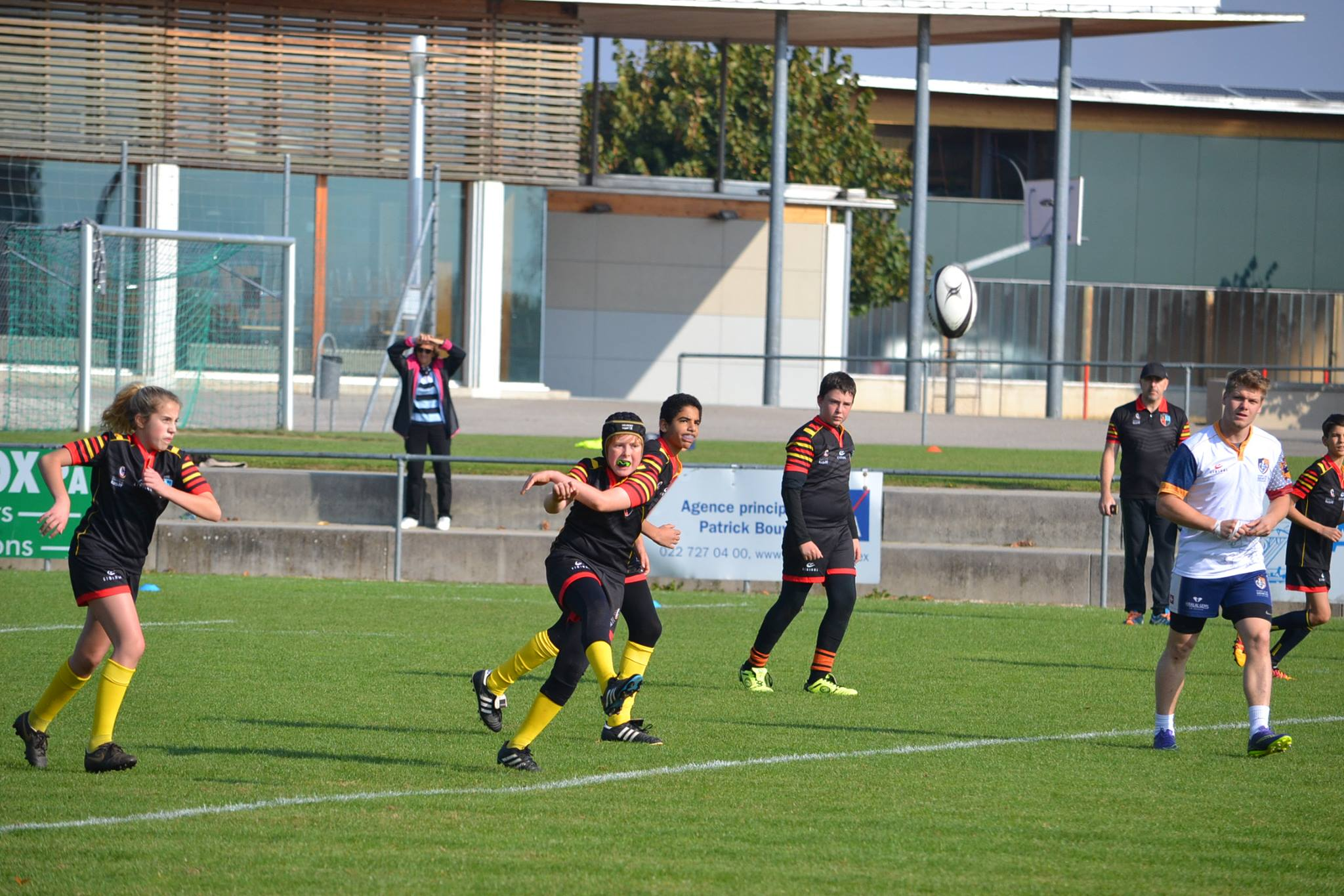 U14 vs Ecole Int. II 8.10.2016 2