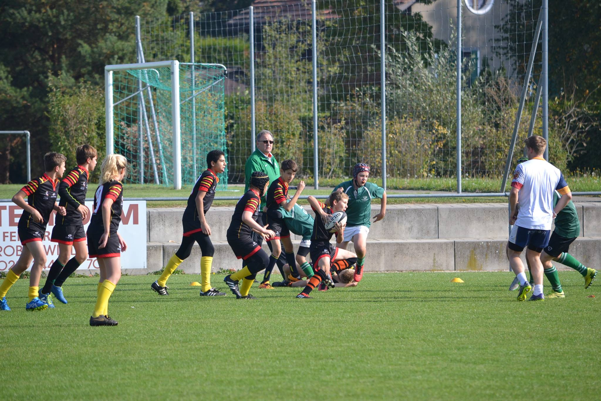 U14 vs Ecole Int. II 8.10.2016 5